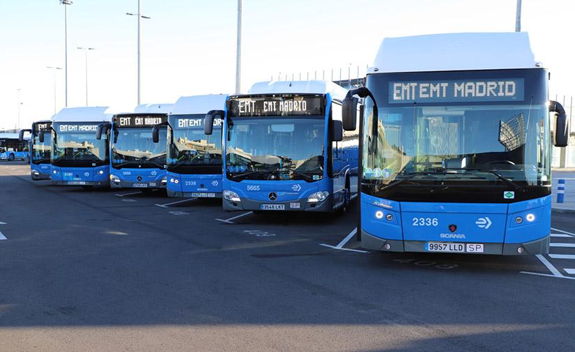 Madrid apuesta por autobuses de gas natural comprimido para sustituir toda la flota en 2023