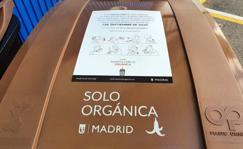 Madrid finaliza con éxito la campaña de información sobre la recogida de residuos orgánicos