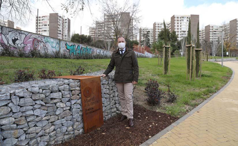 Madrid recupera un espacio abandonado que ha sido recuperado para el disfrute de los vecinos