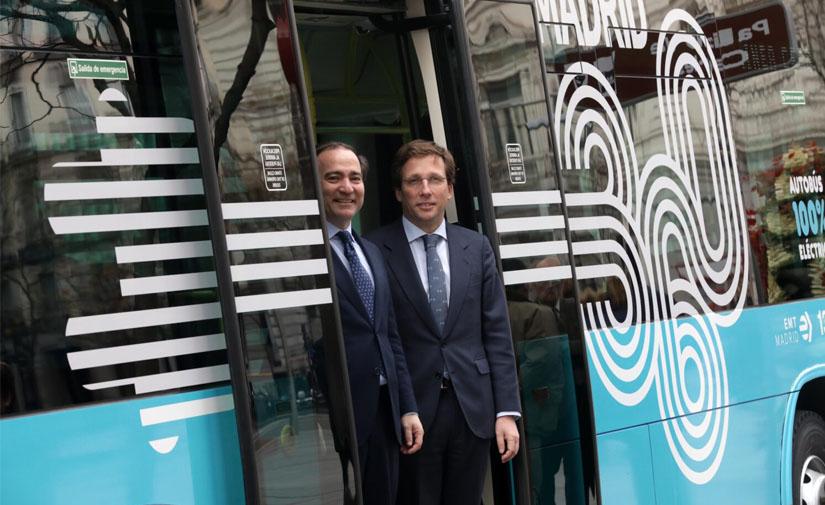 Madrid ya cuenta con la primera línea de autobús cero emisiones y cero coste para los usuarios