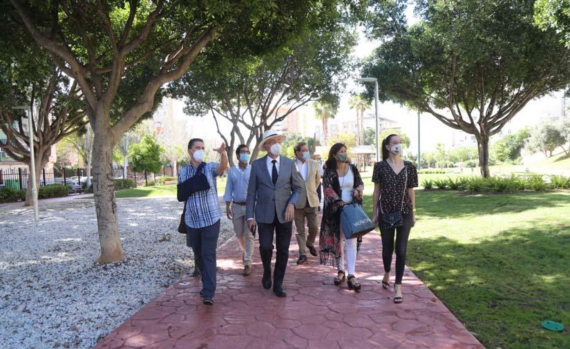 Málaga abre a la ciudad el parque del Norte tras la ejecución de mejoras de más de 400.000 euros
