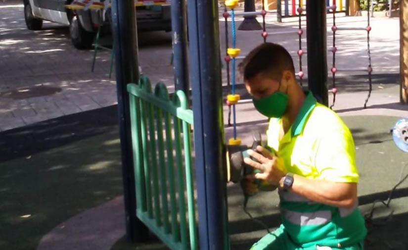 Marbella acometerá un plan de mejoras en las áreas de juegos infantiles del municipio