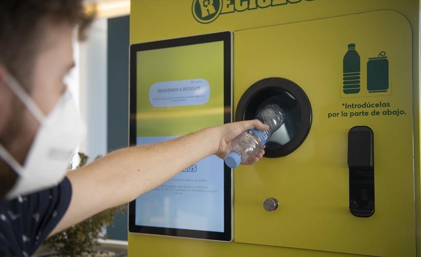 Más de 60 máquinas RECICLOS recompensan por reciclar por toda España