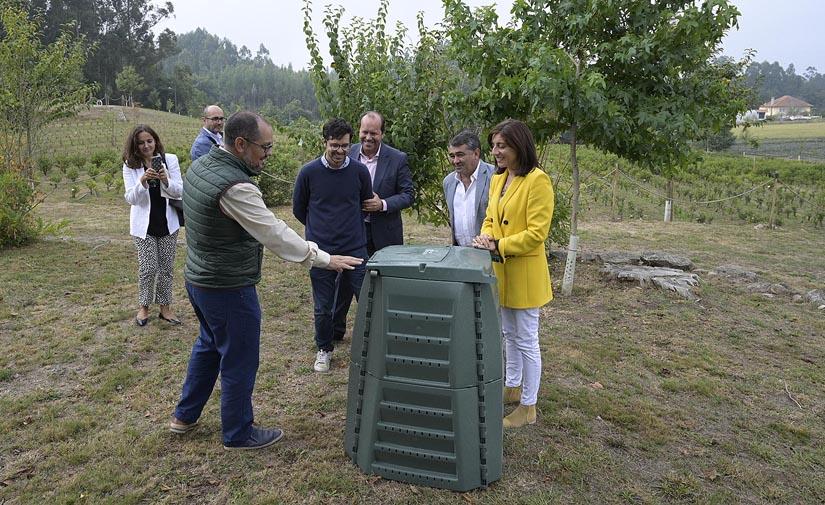 Medio Ambiente concede 100 composteros al Consejo Gallego de Agricultura Ecológica para avanzar en la gestión de los biorresiduos