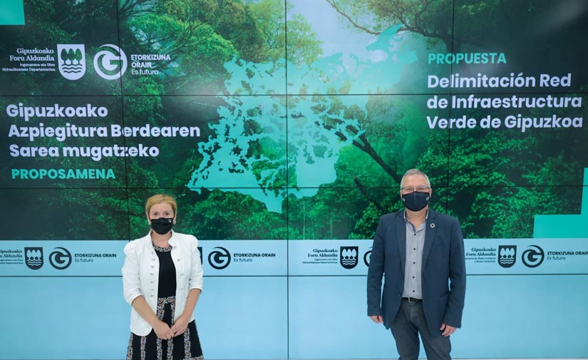 Gipuzkoa realiza un diagnóstico de su infraestructura verde