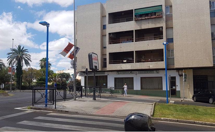 Mérida finaliza la iluminación de trece pasos de peatones en las principales vías de la ciudad