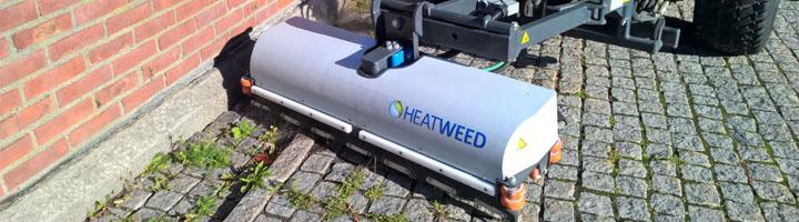 Deltacinco expone en TECMA la solución para el control de malas hierbas sin agentes químicos