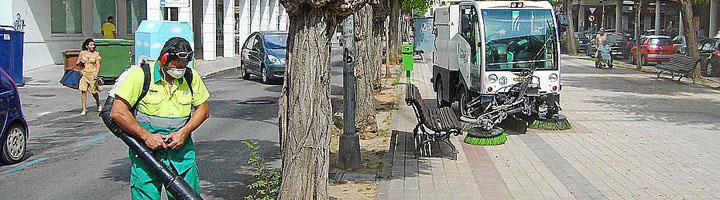 Cespa incorpora nueva maquinaria para mejorar el servicio de limpieza de Ibiza sin coste alguno para los ciudadanos