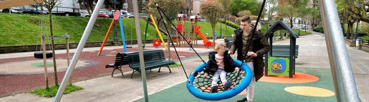 Santander incorpora un nuevo área infantil en el parque de La Teja gracias al presupuesto participativo