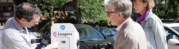 Zaragoza pone en marcha 16 puntos de recarga de vehículos eléctricos