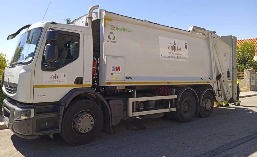 Modificado el contrato de limpieza viaria de San Lorenzo de El Escorial para introducir mejoras en el servicio