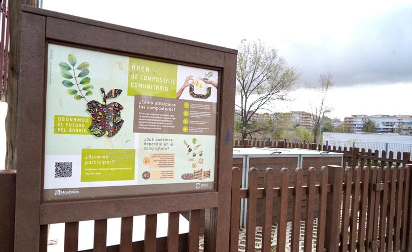 """""""Móstoles Composta"""", modelo de reciclaje y reutilización de residuos orgánicos para otros municipios"""