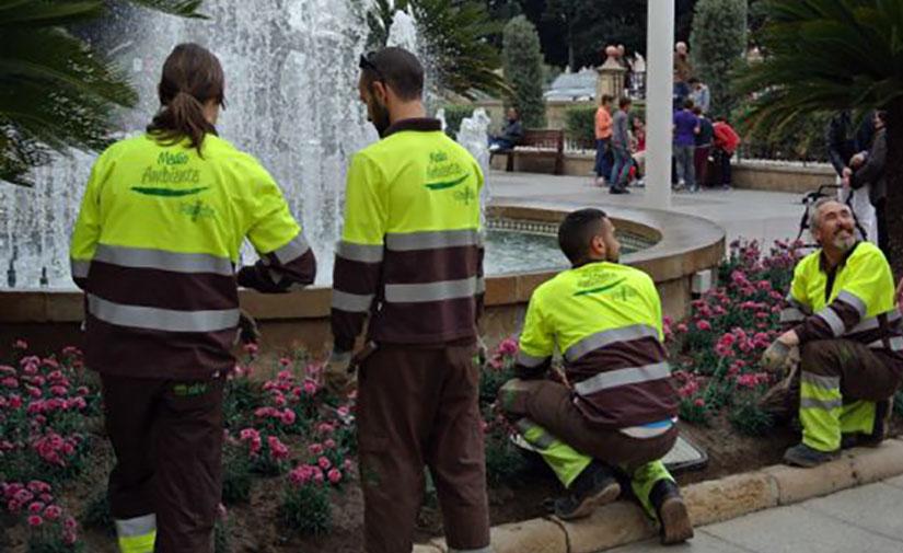 Murcia pone en marcha el nuevo contrato de mantenimiento de parques y jardines