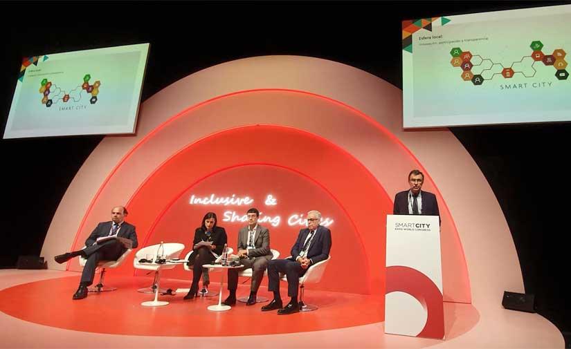 Murcia presenta su proyecto de ciudad inteligente en Smart City Expo World Congress