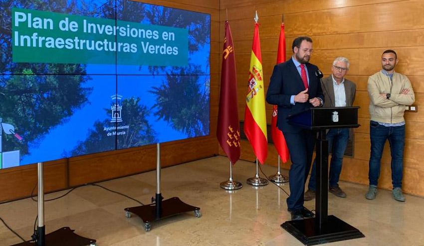 Murcia presenta un Plan para transformar las zonas verdes de la ciudad