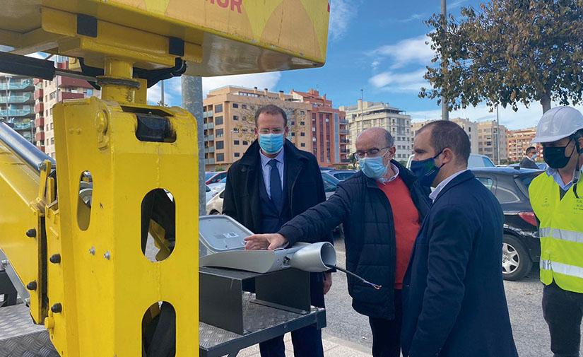 Murcia renueva el alumbrado público mejorando la seguridad de los vecinos en pedanías
