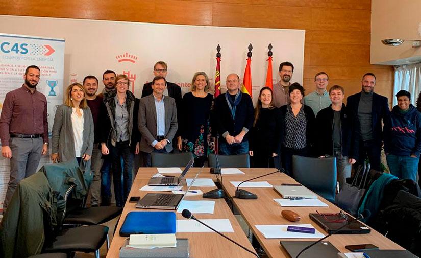 Murcia reúne a socios de ocho países europeos para abordar la implantación del sistema de gestión energética sostenible