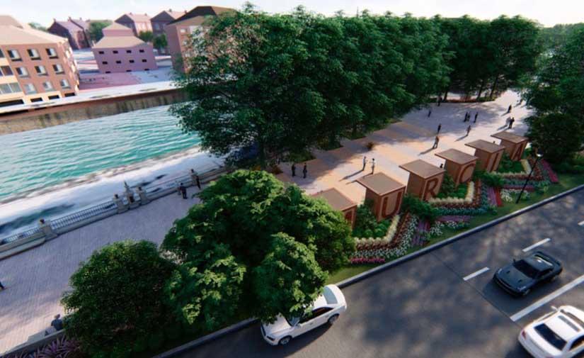 Murcia Río contará con una gran plaza peatonal
