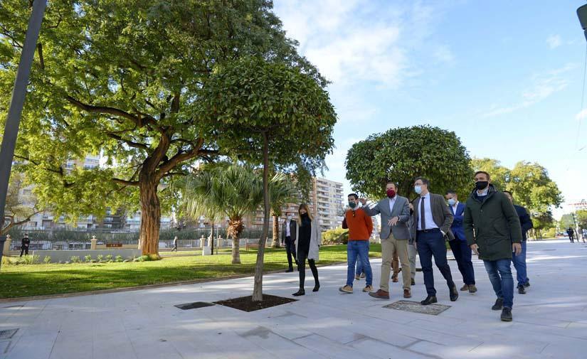 Murcia Río gana terreno con la apertura del nuevo jardín Teniente Flomesta