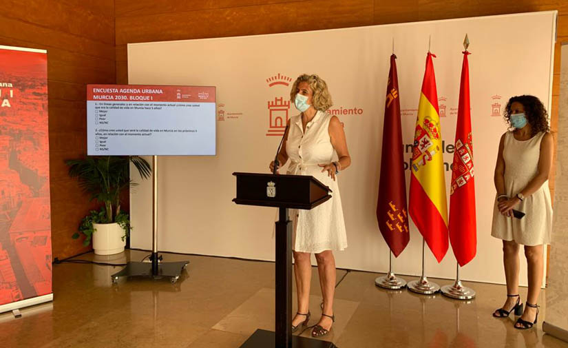 Murcia ya ha iniciado la consulta ciudadana para el diseño de la Agenda Urbana Murcia 2030