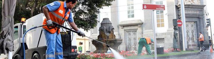 Santa Cruz de Tenerife invertirá 21 millones anuales en limpieza durante los próximos ocho años