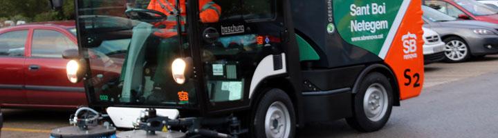 Sant Boi de Llobregat invierte en nuevos equipos de limpieza viaria