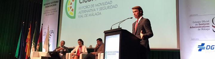 Casi 200 personas se dieron cita en el tercer Foro de Movilidad Alternativa y Seguridad Vial de Málaga