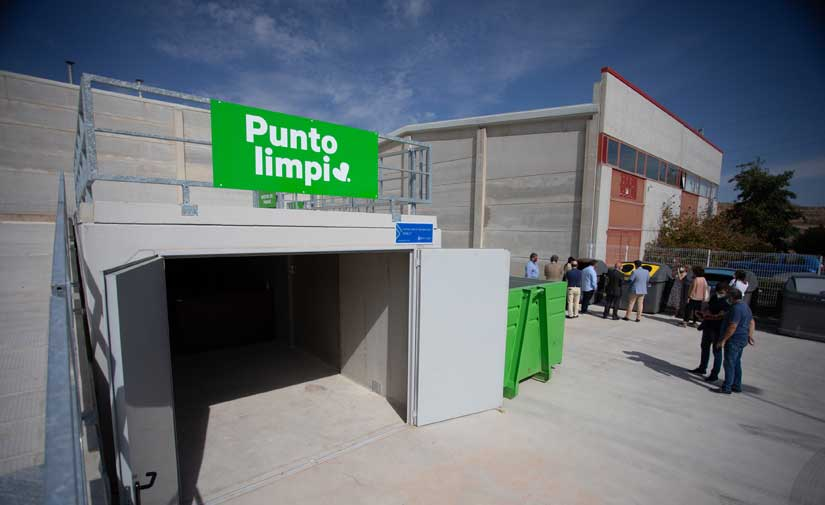 Navarra estrena dos puntos limpios y una planta de tratamiento de residuos y bioestabilización