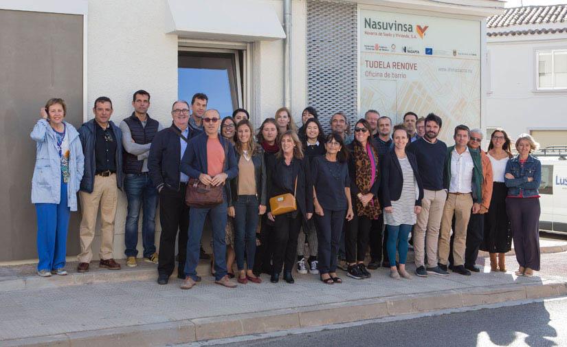 Navarra lidera un proyecto europeo de regeneración urbana