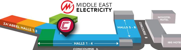 CIRCUTOR participará en Middle East Electricity 2018, del 6 al 8 de marzo en Dubai