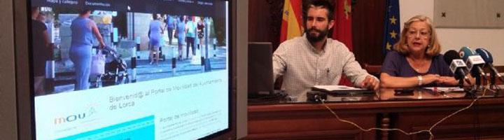 Lorca pone en marcha un portal con el fin de dar a conocer las actividades relacionadas con el PMUS
