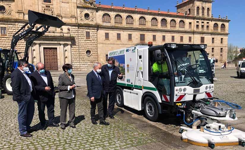Nueva maquinaria para la limpieza viaria en Monforte de Lemos gracias a una inversión de 915.000 euros