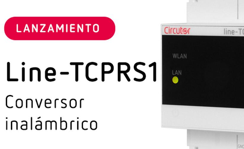 Nuevo conversor inalámbrico Line-TCPRS1 con Wi-Fi y Ethernet de CIRCUTOR