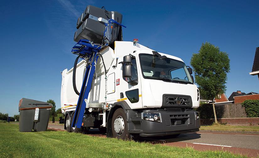 Nuevo recolector de carga lateral Speedline SLM de Ros Roca
