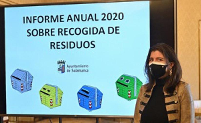 Nuevo record del sistema de reciclaje de residuos del Ayuntamiento de Salamanca
