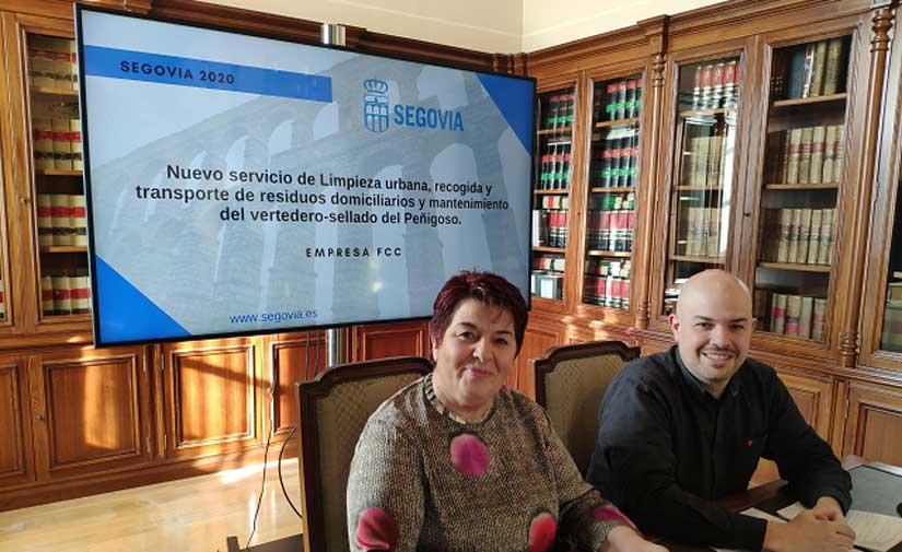 Nuevo servicio de limpieza urbana de Segovia