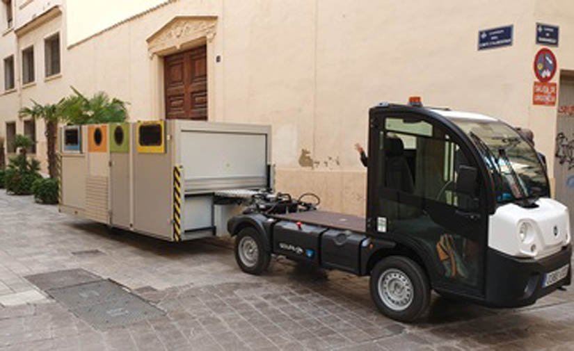 Nuevo sistema de recogida de residuos en Ciutat Vella, Valencia, que reducirá el número de contenedores