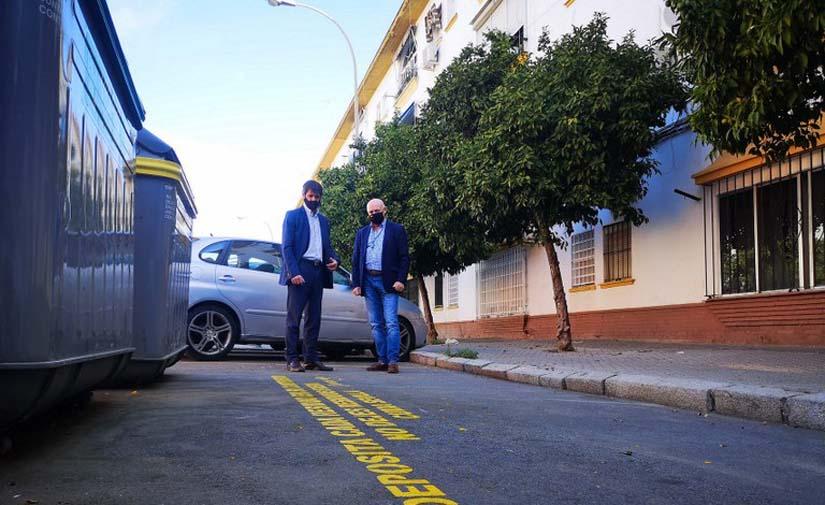 Nuevo sistema de señalización en más de 800 puntos de recogida de residuos para concienciar sobre el reciclaje en Sevilla