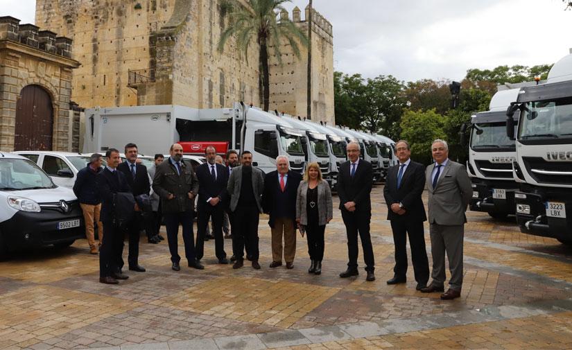Nuevos equipos para el servicio de recogida de residuos de la ciudad de Jerez