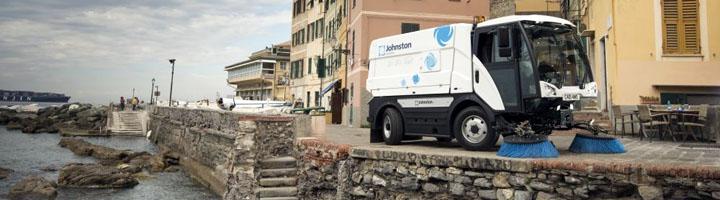 Maquiasfalt presenta en Municipalia la nueva gama de barredoras compactas. C201 y C401 de 2 y 4m3 de capacidad