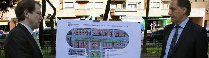 Salamanca da el visto bueno a la mejora de la accesibilidad en otras once plazas y calles de San Bernardo