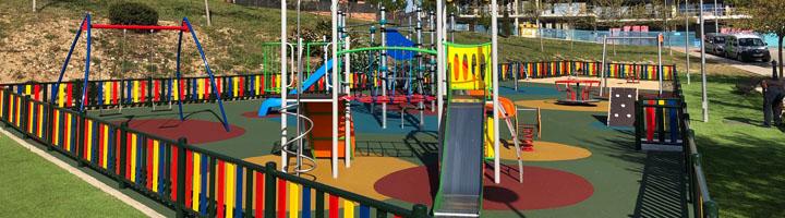 Colmenar Viejo finaliza la reforma del área de juegos infantiles de la calle Dos de Mayo
