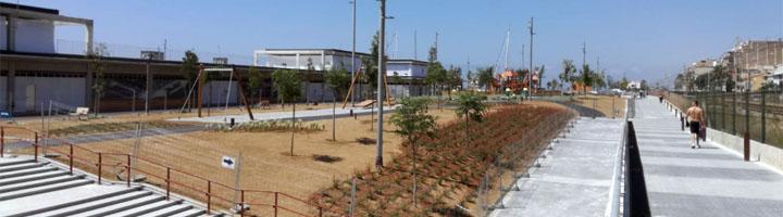 Premiá de Mar inaugura la nueva zona verde del puerto