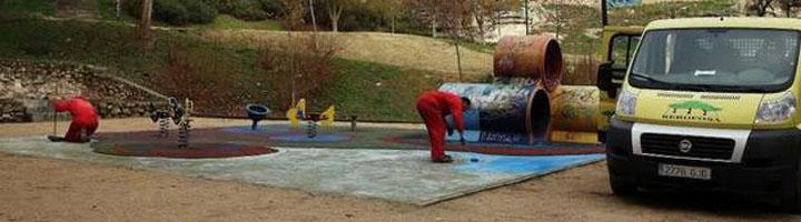 Zamora lleva a cabo actuaciones de mejora en seis zonas verdes y otros tantos parques infantiles de la ciudad