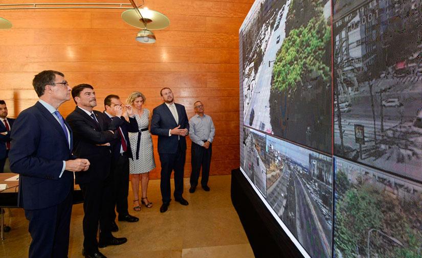 Ocho grandes parques de Murcia tendrán alumbrado con sensores de presencia y controlado por telegestión