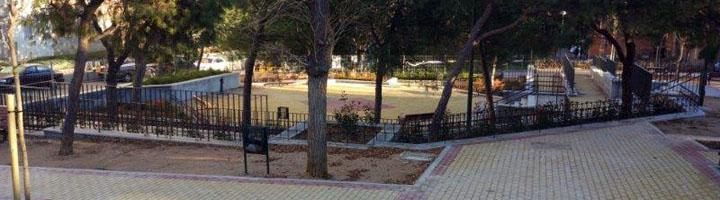 Madrid realiza mejoras en la plaza central de la colonia de Loyola