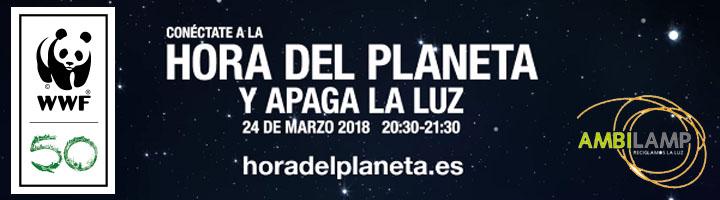 AMBILAMP participará en la Campaña La Hora del Planeta 2018 el próximo 24 de Marzo apagando su luz para conectar con el planeta