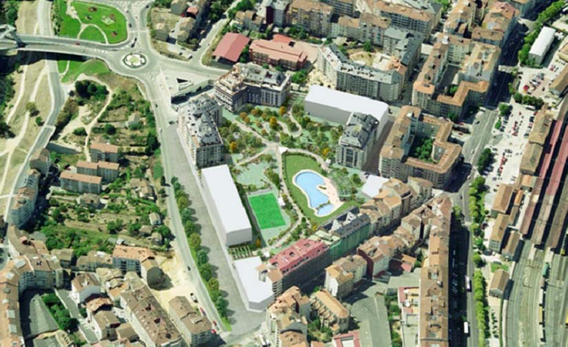 Ourense construirá en el barrio de A Ponte el mayor parque de la ciudad