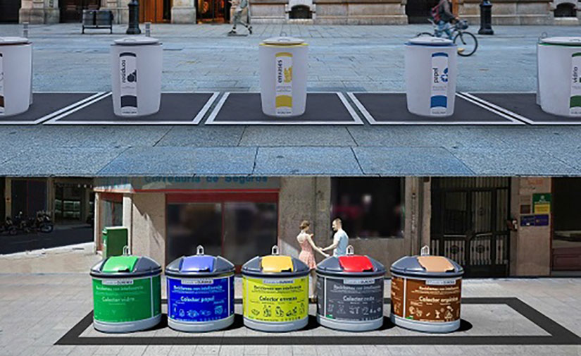 Ourense sustituirá las islas ecológicas por nuevos modelos de contenedores de residuos