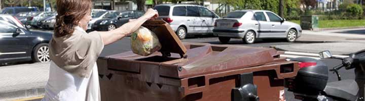 Barakaldo casi duplica la recogida de basura orgánica recogiendo 100.800 kilos durante 2018